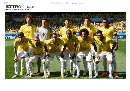 Nos pênaltis, Brasil vence o Chile e avança às quartas; veja fotos