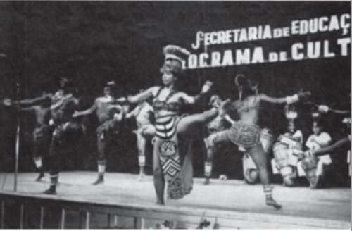 mercedes bailarina afro