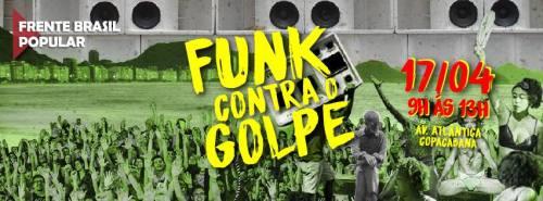 Funk contra o golpe