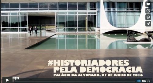 #HistoriadoresPelaDemocracia