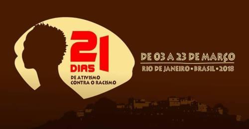 21diasdeativismocontraoracismo2018
